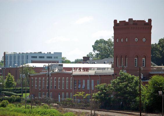Highland Park Manufacturing Company Mill No. 3 in Mecklenburg County, North Carolina.