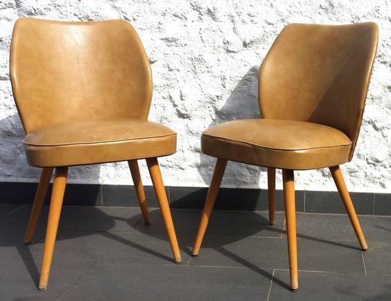 Vintage Sessel - 60s Cocktail Sessel in Leder von Thonet - ein Designerstück von hogusch bei DaWanda