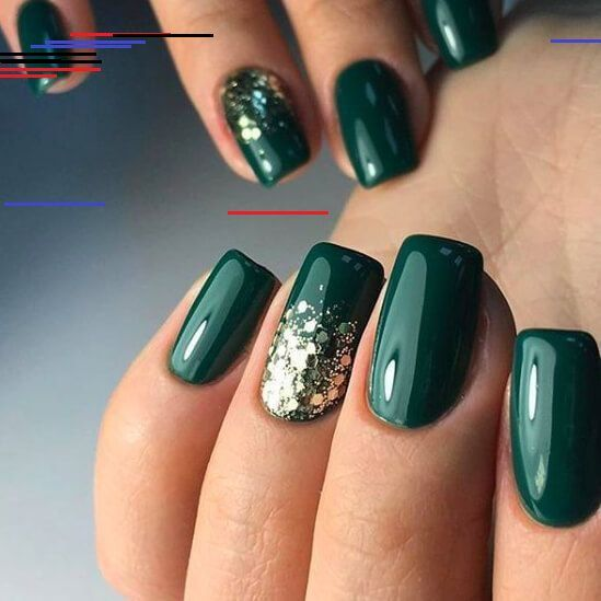 Pin By Mary Brown On Nails In 2020 Green Nail Art Green Nails