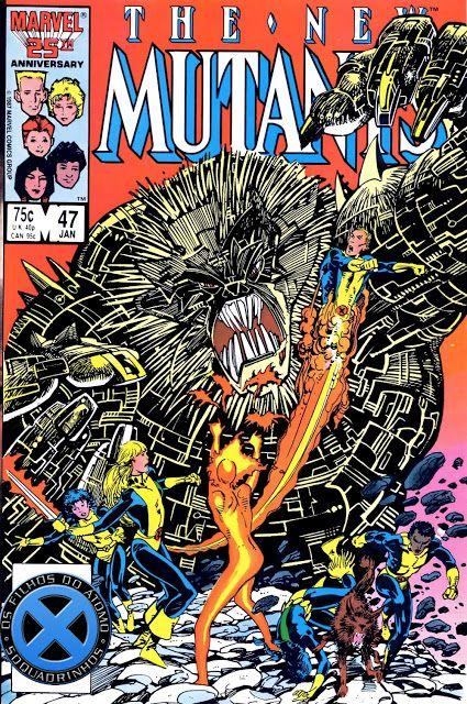 SAM-COMICS: Os Novos Mutantes V1 47