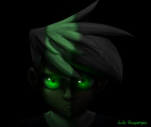 """Epic Danny Phantom: """"I know where you live, and I WILL destroy you, if you ever even THINK of hurting my family, or my friends. Because I know, and you know, that I can. And I'm not just a weak halfa - I'm your WORST NIGHTMARE."""