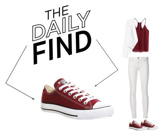 """""""ALL STARS CONVERSE"""" by godslittleworshiper ❤ liked on Polyvore featuring Converse and Rebecca Taylor"""