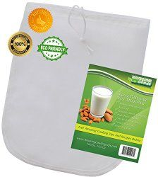 Have Some Goods #nutmilkbag Nut Milk Bag — Best Big Reusable Review | Michigan Saving and More -