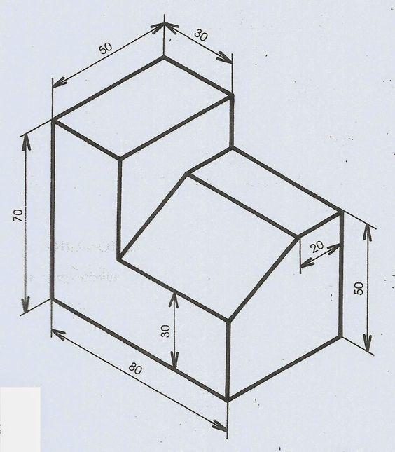 Acadmatcteii Trabajos A Realizar Sobre Proyecciones Ortogonales Proyecciones Ortogonales Dibujos De Geometria Ejercicios De Dibujo