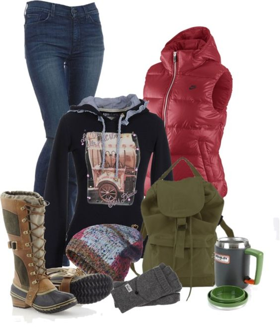 """Day at the barn #3 : rail-wear"" by sunnykansas on Polyvore"