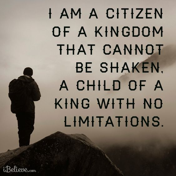 Image result for a Kingdom not shaken