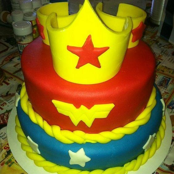 Los Angeles Area, Wonder Woman And Birthday Cakes On Pinterest