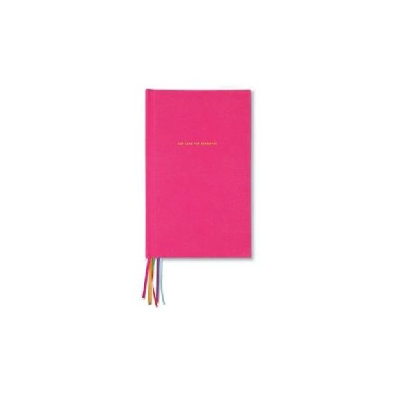 Kate Spade New York Pink Eat Cake For Breakfast Journal ($24) ❤ liked on Polyvore featuring home, home decor, stationery and pink