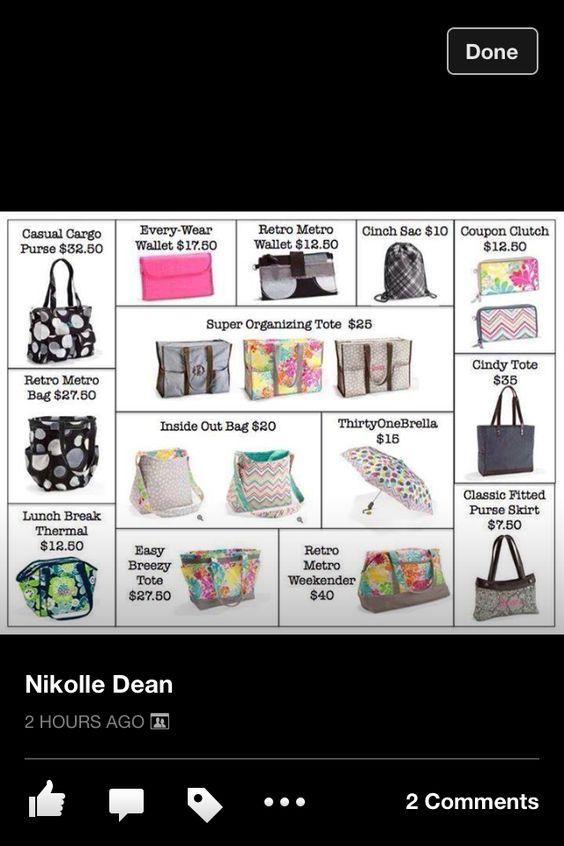 31 Flash Sale!!!! March 16-22 www.thirtyonegifts.com/alexishines