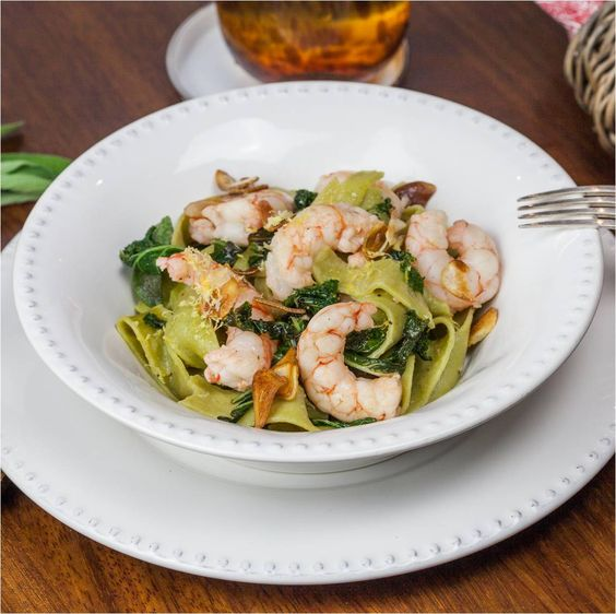 #Linguini di Cavolo con #Kale. Esto y mucho más en www.kukit.es ¡Empieza a cocinar! #recetas #superalimentos