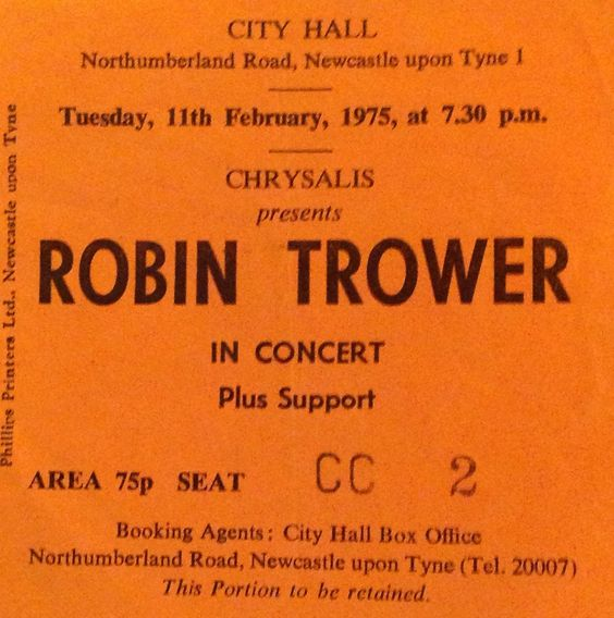 robin trower gig poster - Google Search