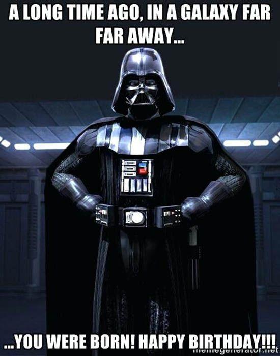 Star Wars Birthday Memes Wishesgreeting Star Wars Happy Birthday Star Wars Star Wars Humor