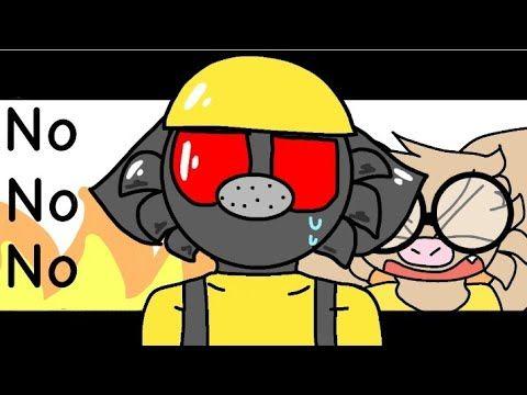 No No No Meme Roblox Piggy Animation Meme Map Parts Youtube Piggy Legend Drawing Roblox