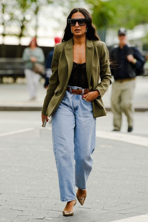 Every Must See Street Style Outfit From New York Fashion Week In 2020 Cool Street Fashion Denim Street Style Street Style Outfit
