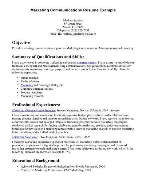 Communication Skills For Resume  HttpJobresumesampleCom