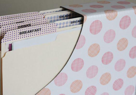 Tips for Organizing Magazine Recipes