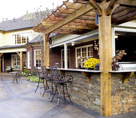 Dulang Kitchen Bar Garden: Outdoor Bar Ideas.10 Awesome Designs Of Home Garden Bars