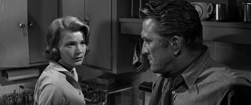 "Jerri Bonds (Gena Rowlands): ""Maybe you'd be better off if they caught you."" // Jack Burns (Kirk Douglas): ""Maybe, but I'd like to put it off for as long as possible."" -- from Lonely Are the Brave (1962) directed by David Miller"