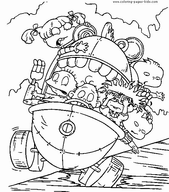 Cute Nickelodeon Coloring Pages Design