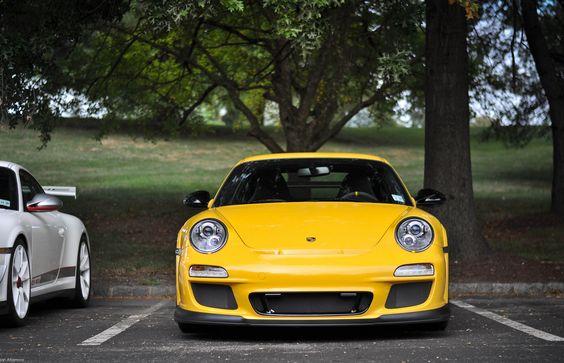 Porsche Yellow RS....saw this car today....GORGEOUS!!!
