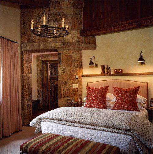 Inspiracion Medieval Para Tu Casa Rustic Bedroom Bedroom Design Bedroom Decor Lights