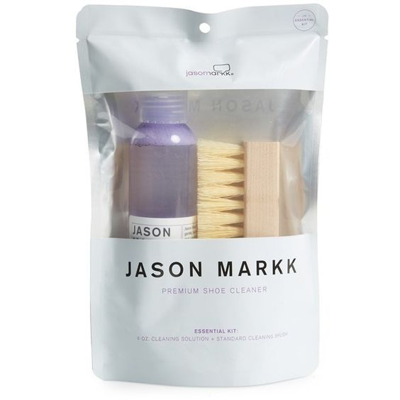 Jason Markk 'Essential' Shoe Cleaning Kit ($16) via Polyvore featuring mens and men's grooming