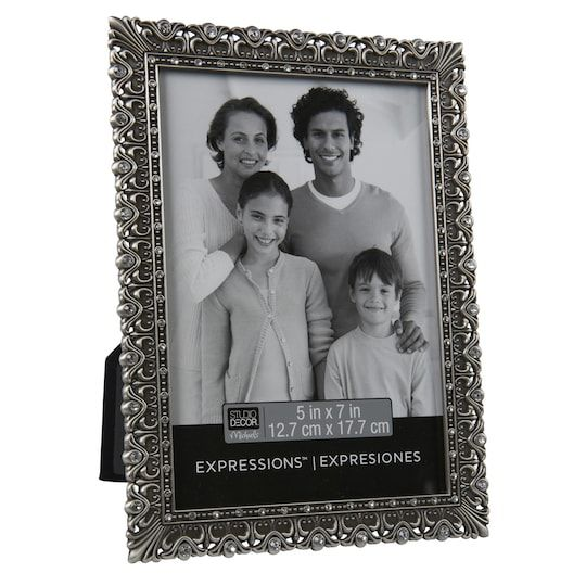 Pewter Ornate Jeweled Frame Expressions By Studio Decor 5 X 7 Michaels Decor Frame Wedding Stationery