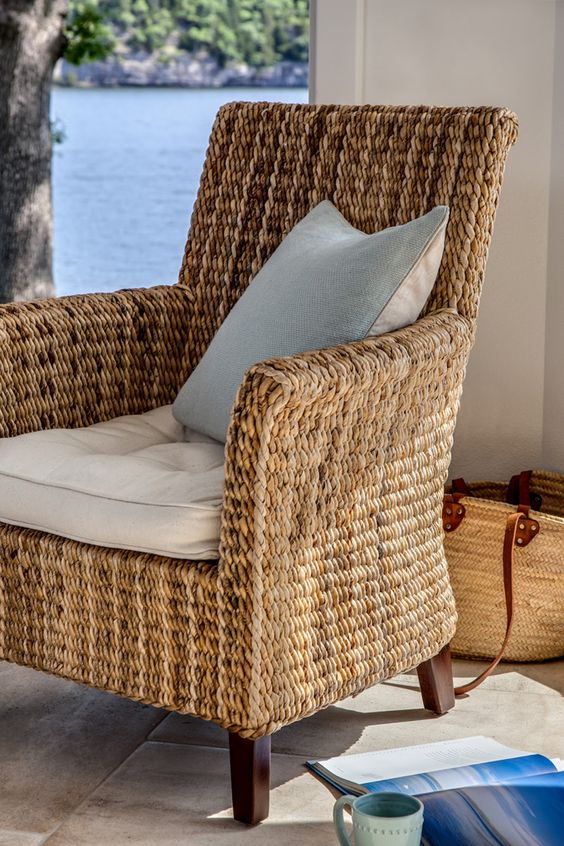 House of Turquoise: Guest Blogger: Kim Hoegger Home, love these chairs for this home by the water