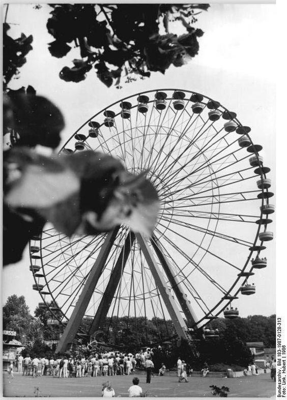 Berlin, Kulturpark Plänterwald, Riesenrad