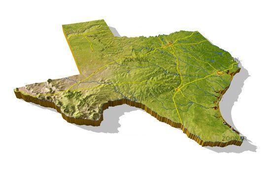 Landform Map Of Texas.Luis Perez Luisperez4662 On Pinterest