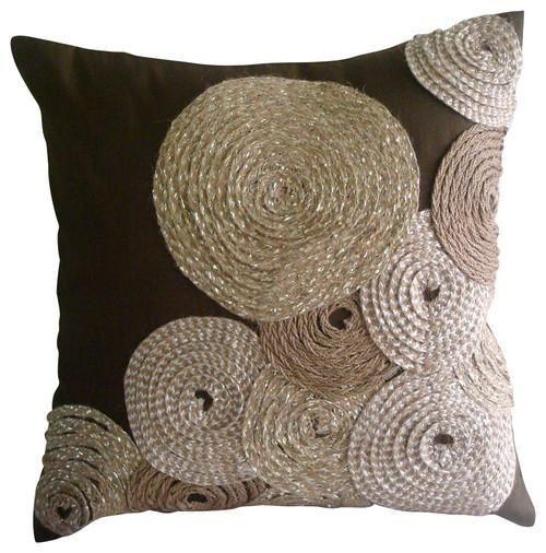 Art Silk Throw Pillow Cover