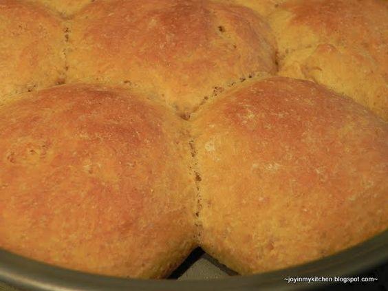 sweet yeast rolls bread machine