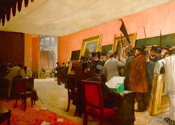 Henri Gervex - Une séance de jury de peinture