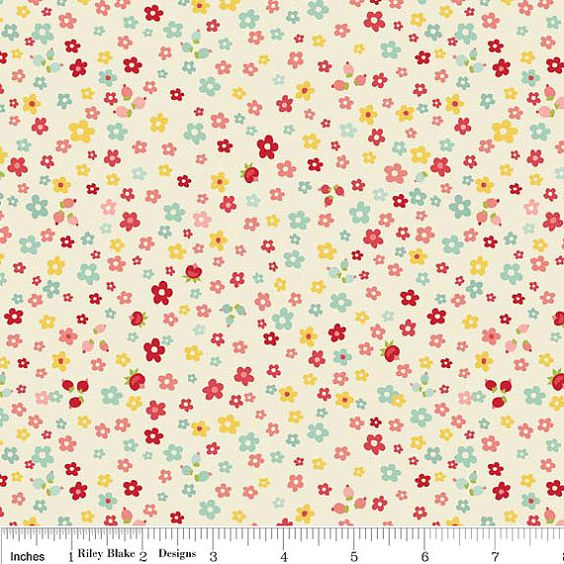 SALE The Sweetest Thing quilt or craft fabric by by fabricshoppe, $8.75