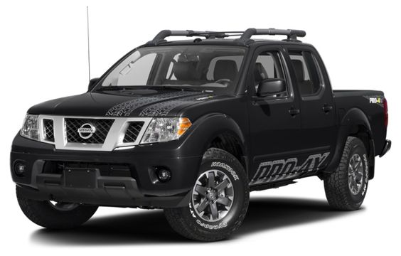 Model: 2016 Nissan Frontier PRO-4X Manual Crew Cab, MSRP: $32,340 MPG: 16 city / 21 highway Horsepower: 261 hp @ 5,600 rpm Towing capacity: 6,100 lbs Engine: 4.0 L V6 Curb weight: 4,475 lbs Torque: 281 lb-ft @ 4,000 rpm