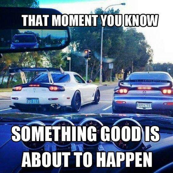 Haha! Street race!