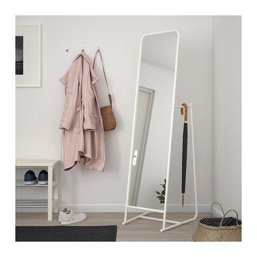 Knapper Miroir Sur Pied Blanc 48x160cm Magasinez Sur Fr Ikea Ca Ikea Floor Mirror Standing Mirror Ikea