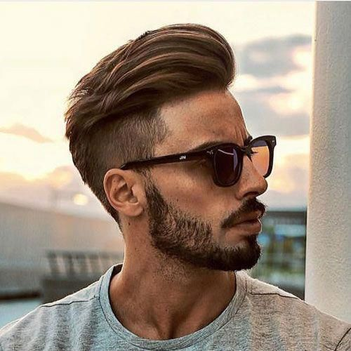 49 Best Short Hairstyles With Beard Style For Round Face Men