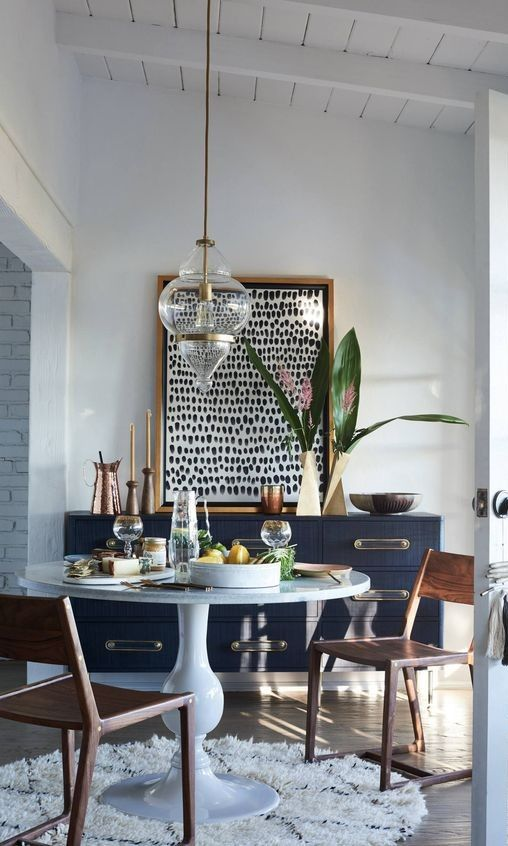 5 Pinterest Inspired Ways To Refresh Your Home In 2018 Dining Room Small Eclectic Dining Room Eclectic Dining