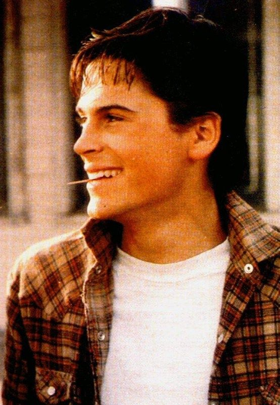 Sodapop curtis (Rob Lowe) -- | The Outsiders | Pinterest ...