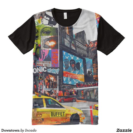 Downtown All-Over Print Shirt. Regalos Padres, fathers gifts, #DiaDelPadre #FathersDay