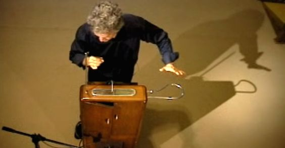 Musician Plays A Heartbreaking Version Of 'Over The Rainbow' On A Theremin via LittleThings.com