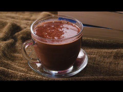 مشروب الشوكولاتة الساخن ب 5 دقائق أسرع هوت شوكليت سهل ولذيذ Hot Chocolate Youtube Food Yummy Food Snacks