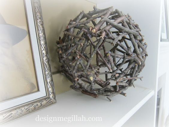 DIY twig ball
