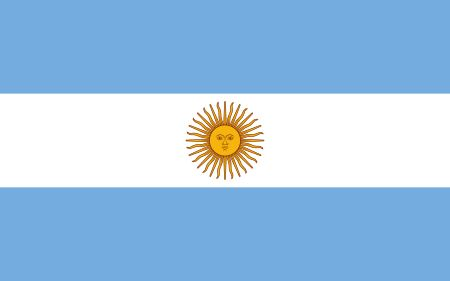 Free Argentina flag graphics, vectors, and printable PDF files. Get the free downloads at http://flaglane.com/download/argentinian-flag/