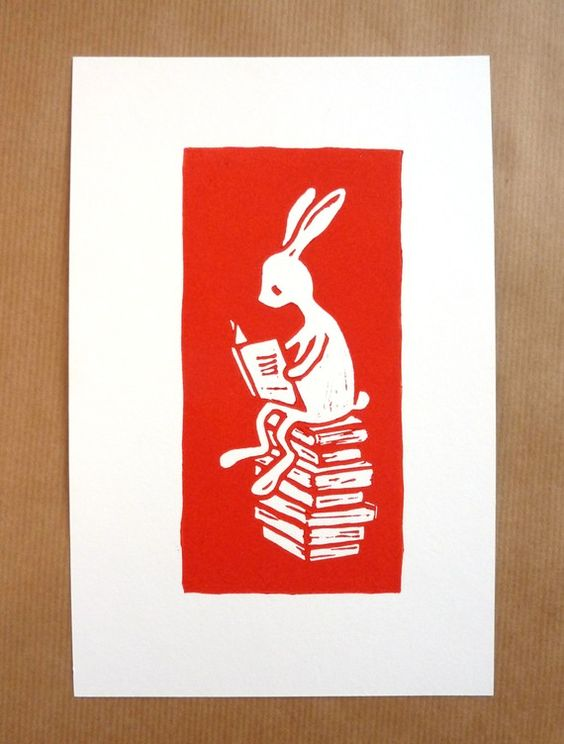 Love these Etsy linoprints . . . great for a kids room or nursery.