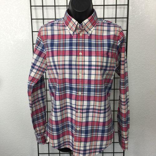 Ralph Lauren Rugby Flannel Shirt Women S Size 8 Plaid Long Sleeve Button Down Womens Flannel Shirt Flannel Shirt Plaid
