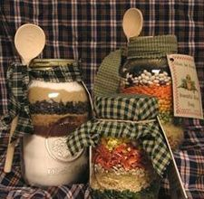 Jar Gift ideas. I like the hobby jar idea. Simple but cute & thoughtful.