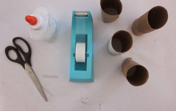 Convite a brincar material reciclado Construindo Garagem | brincandoseaprende.net