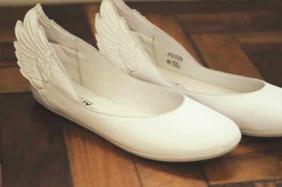 EU QUEEEERROOOOO!!! Sapatilhas de anjo ^^